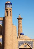 Juma Minaret - Detail from Khiva Royalty Free Stock Images
