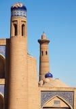 Juma Minaret - Detail from Khiva Royalty Free Stock Images