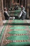 Juma Mosque Discussion. People having religious discussion in Juma mosque of Ahmedabad/India stock image
