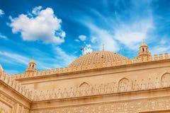 Juma Mosque, Samaxi Cume Mescidi, in Shamakhi, Azerbaijan. Territory of Juma Mosque, Samaxi Cume Mescidi, in Shamakhi, Azerbaijan stock photography
