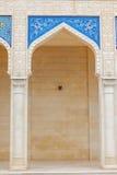 Juma Mosque, Samaxi Cume Mescidi, in Shamakhi, Azerbaijan. Territory of Juma Mosque, Samaxi Cume Mescidi, in Shamakhi, Azerbaijan royalty free stock photo