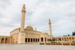 Juma Mosque, Samaxi Cume Mescidi, Shamakhi. Territory of Juma Mosque, Samaxi Cume Mescidi, in Shamakhi, Azerbaijan stock image