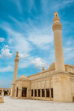 Juma Mosque, Samaxi Cume Mescidi, Shamakhi. Territory of Juma Mosque, Samaxi Cume Mescidi, in Shamakhi, Azerbaijan stock photo