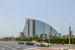 Jumairah海滩旅馆,迪拜, Uniited阿拉伯人酋长管辖区 库存照片