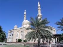 jumairah μουσουλμανικό τέμενο&sig Στοκ εικόνα με δικαίωμα ελεύθερης χρήσης