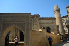 Jumamoskee, Baku, Azerbeidzjan Stock Afbeeldingen