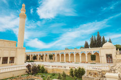 Jumamoskee, Samaxi Cume Mescidi, in Shamakhi, Azerbeidzjan royalty-vrije stock foto