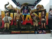 Jumanji powitanie dżungla zdjęcia royalty free