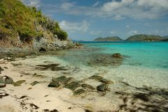 Jumbie Bay Beach, St. John Stock Photo