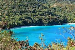 Jumbie Bay in St John. U.S. Virgin Islands Stock Image