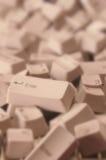 Jumbled Computer Keys Stock Image