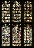 Jumbled stained glass Stock Photography