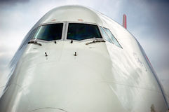 Jumbo 747 Imagen de archivo libre de regalías