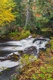 Jumbo Falls in Autumn Stock Photos