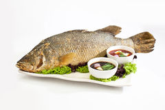 Jumbo Fish Specialties - 7th Lunar Month. Fish for Lunar month festival Royalty Free Stock Image