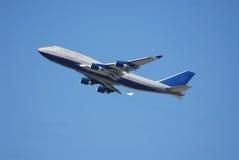 Jumbo jet Royalty Free Stock Photo