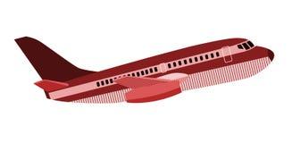 Jumbo jet plane Stock Images