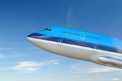 jumbo jet powietrza Obrazy Stock