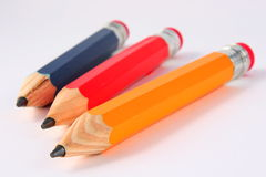 Jumbo Pencils Royalty Free Stock Photo