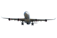 Jumbo plane Royalty Free Stock Photo