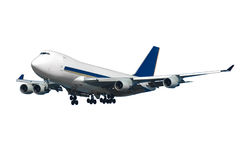 Jumbo plane Royalty Free Stock Images