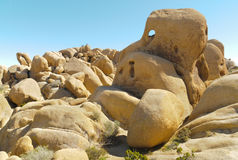 Jumbo Rocks formations Royalty Free Stock Photography