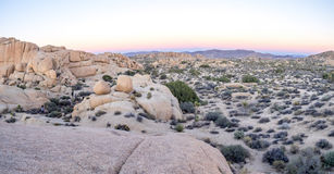 Jumbo Rocks, Joshua Tree National Park Royalty Free Stock Photography