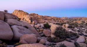 Jumbo Rocks, Joshua Tree National Park Royalty Free Stock Images