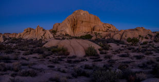 Jumbo Rocks, Joshua Tree National Park Stock Image