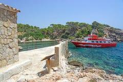 Jumbo rosso della barca II Fotografie Stock Libere da Diritti