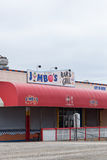 Jumbo's Bar and Grill Stock Photography