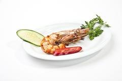Jumbo shrimp Stock Photo