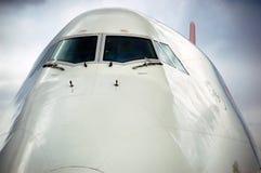 Jumbojet 747 lizenzfreies stockbild