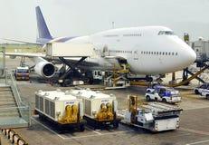 Jumbojet Boeings 747 Lizenzfreie Stockbilder