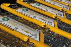 Jumbon är en supermarketkedja i Holland Royaltyfria Foton