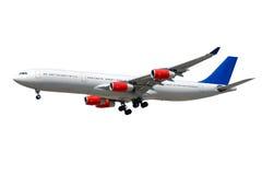 Jumbovliegtuig royalty-vrije stock afbeelding
