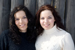 Jumeaux Photographie stock libre de droits