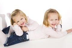 Jumeaux Photo stock