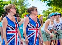 Jumeaux de Britannique Image stock