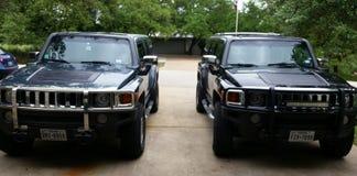 Jumeaux de Hummer Photo libre de droits