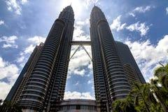 Jumeaux de Petronas Images stock