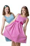 Jumeaux de soeur Photo libre de droits