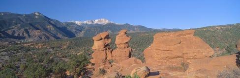 Jumeaux siamois dans le Colorado Images libres de droits