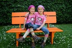 Jumeaux vrais Photos stock