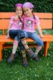 Jumeaux vrais Photographie stock