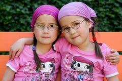 Jumeaux vrais Images libres de droits