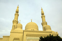 Jumeira清真寺 免版税库存照片