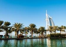 jumeira UAE гостиницы Дубай burj al арабское Стоковое Фото
