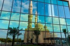 Jumeirah清真寺,迪拜 免版税库存照片