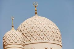 Jumeirah清真寺,迪拜 免版税库存图片